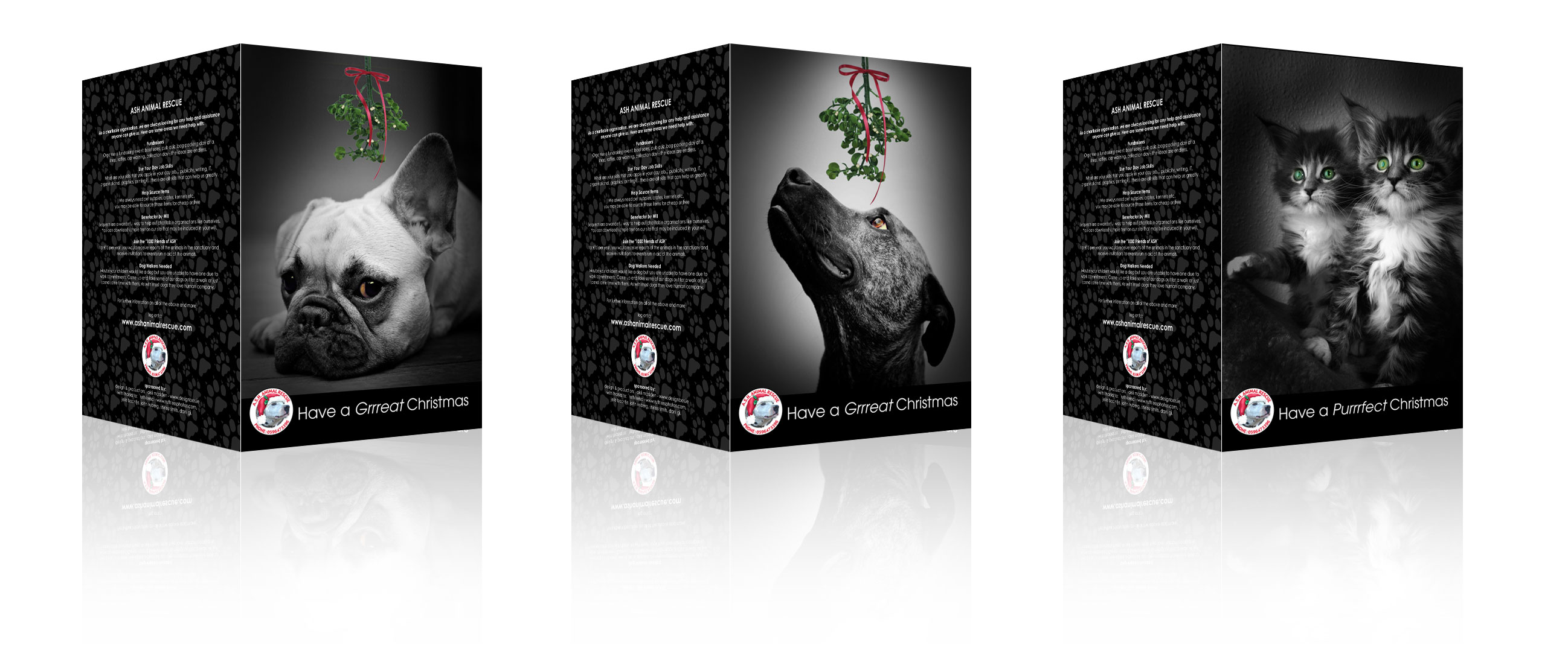 ASH Animal Rescue » Christmas cards now available!
